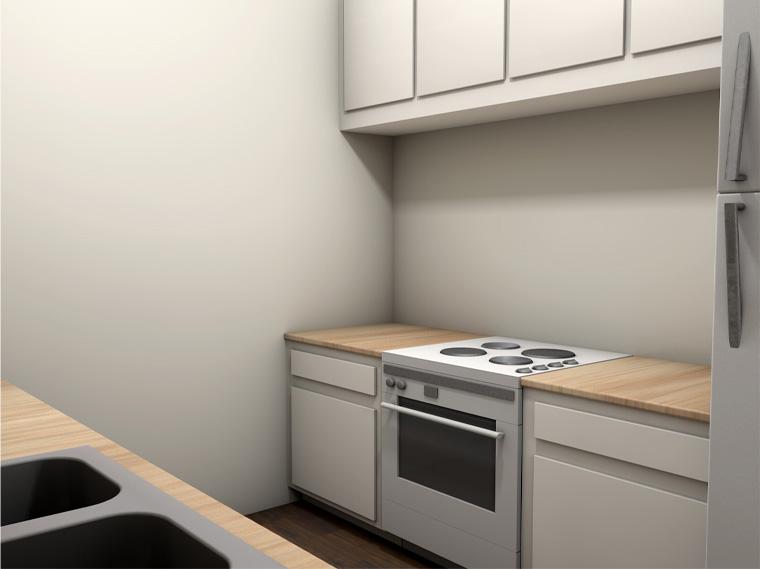 Daybreak Suites Dothan Alabama Galley Kitchen